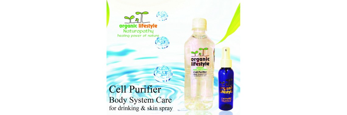 Cell Purifier For Body System - Drink and Skin Spray